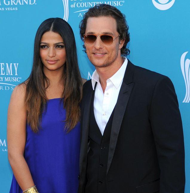 Camila Alves MCConaughey and Matthew McConaughey