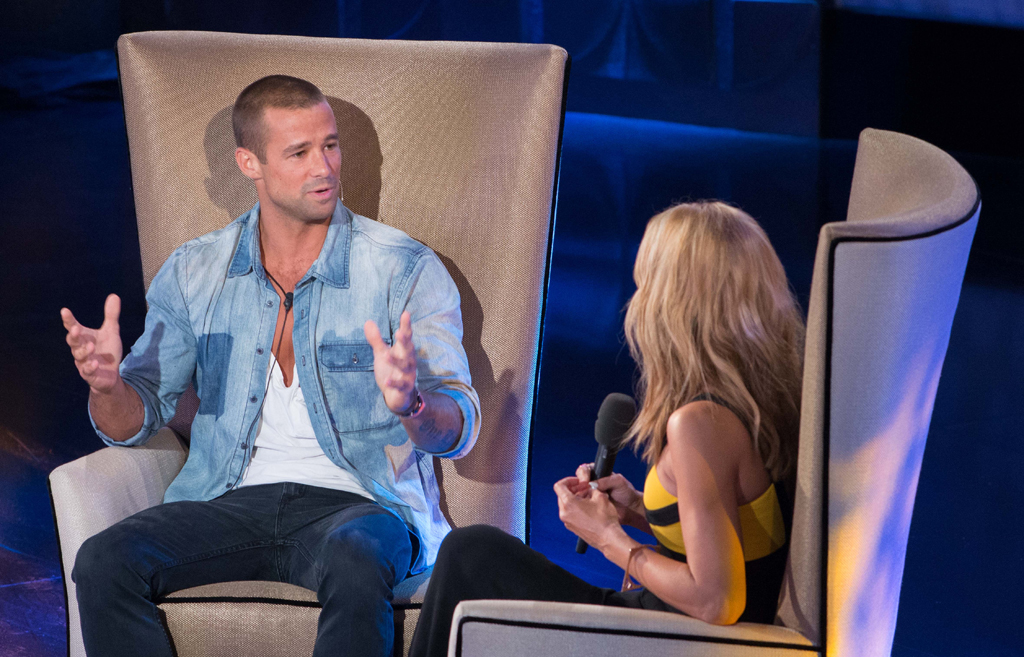 Tonight's real evictee Matt Filippi chats to Sonia Kruger.