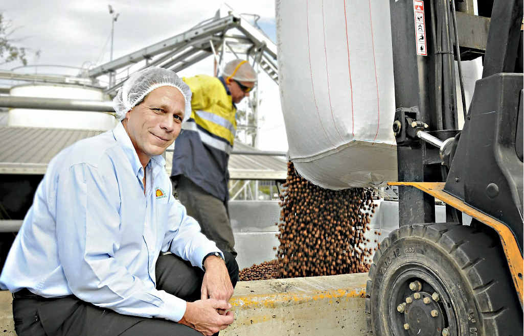 Macadamia nuts are like gold in a year of short supplies, according to Suncoast Gold CEO Jim Twentyman.