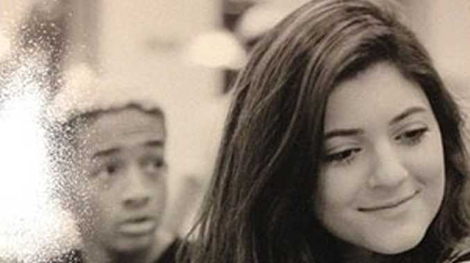 Jaden Smith and Kylie Jenner.