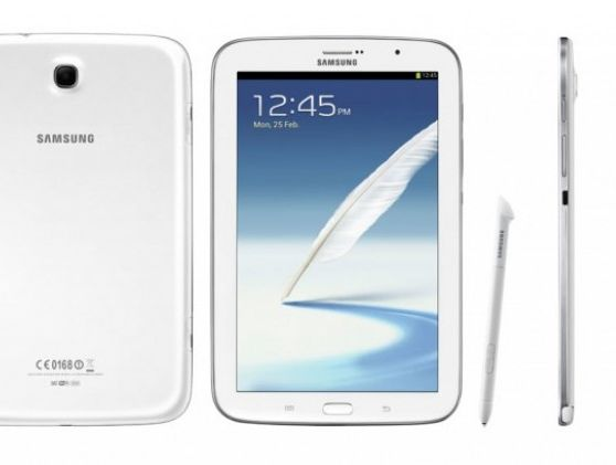 The Samsung Galaxy Note 8.0 tablet.