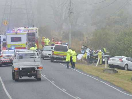 A family in mourning after a tragic double fatal crash on the New England Hwy.