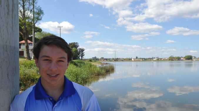 GREAT SPORT: Junior dragon boat paddler Alex Belletty, 16, is appealing for Clarence Valley juniors to take up the sport. Photo: Matthew McInerney