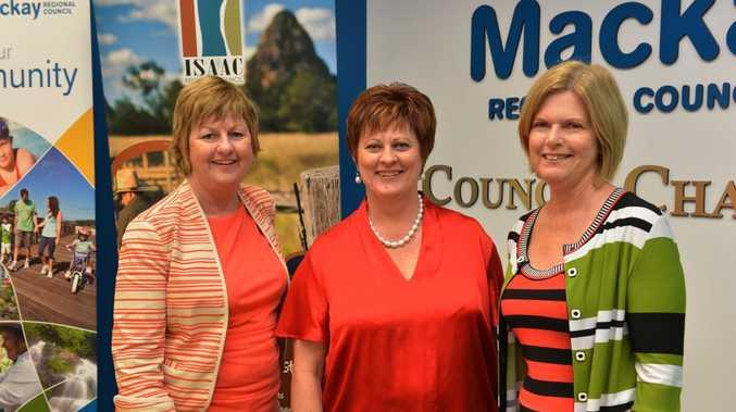Anne Baker, Deirdre Comerford and Jennifer Whitney.