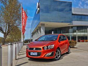 Sporty RS Holden Barina to join range in November