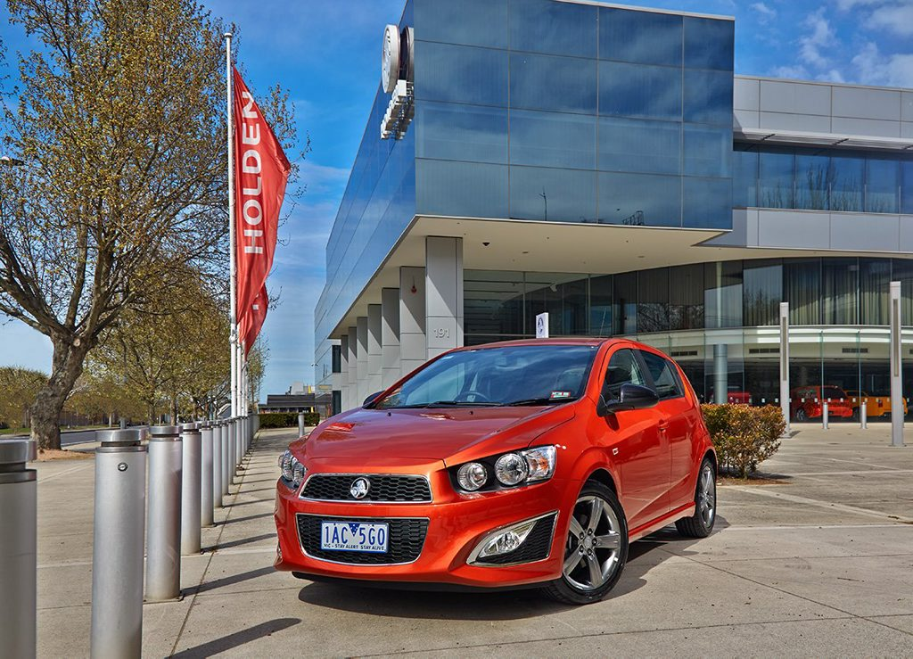 The Holden RS Barina.