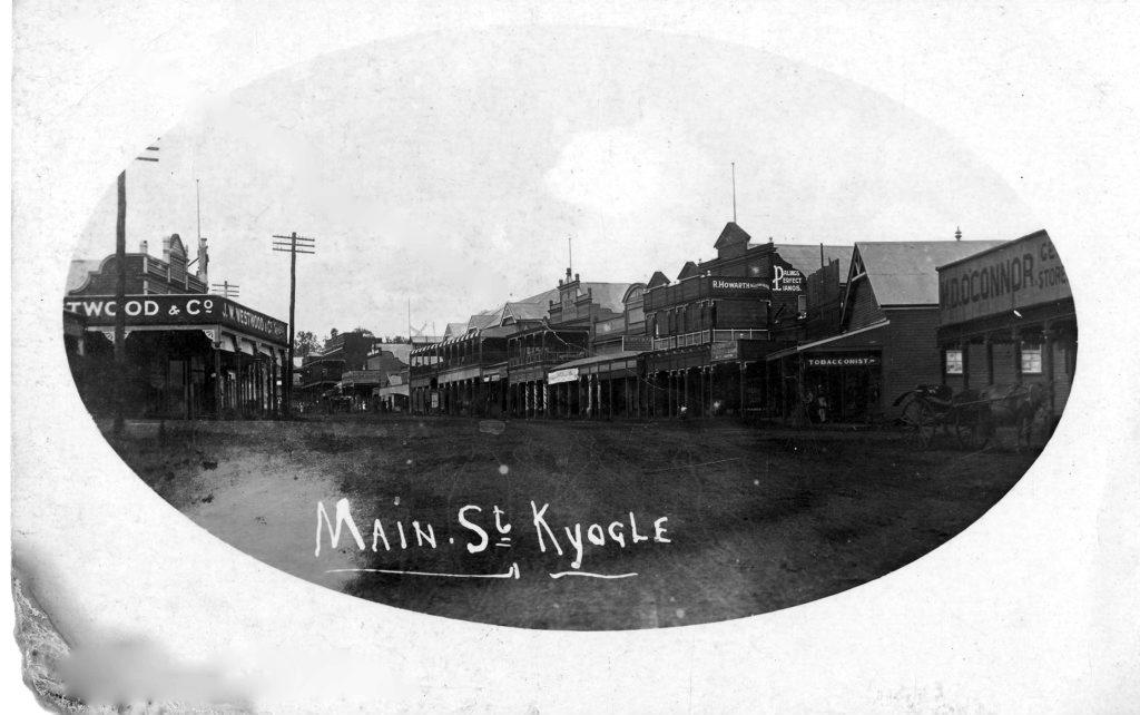 Kyogle Main Street c1913 Photo Contributed Richmond River Historical Society