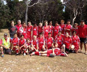 Under-13 GF team.