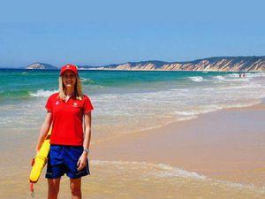 Brittany Neumann is our beach champ
