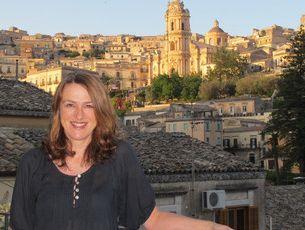 Nicky Pellegrino in the Sicilian town of Modica, where some of her book's ideas were born.