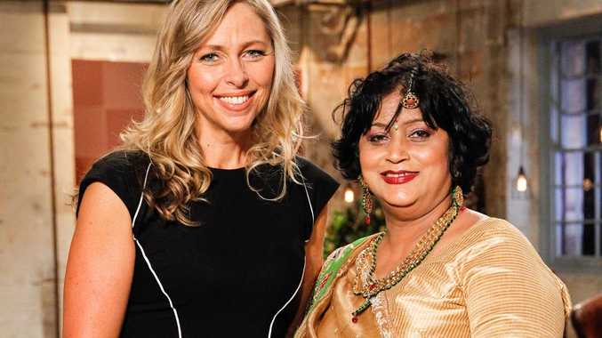 Manju Jehu with Woolworths' GM of Customer Loyalty Lizzy Ryley.