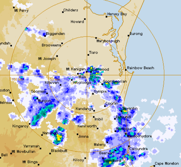 THE Sunshine Coast has woken up to its first storm of the season.