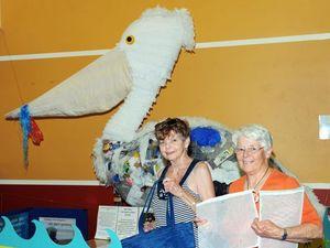 Conservation group offers plastic bag alternatives