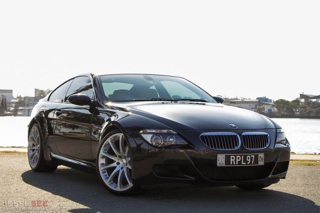 The 2006 model BMW M6.