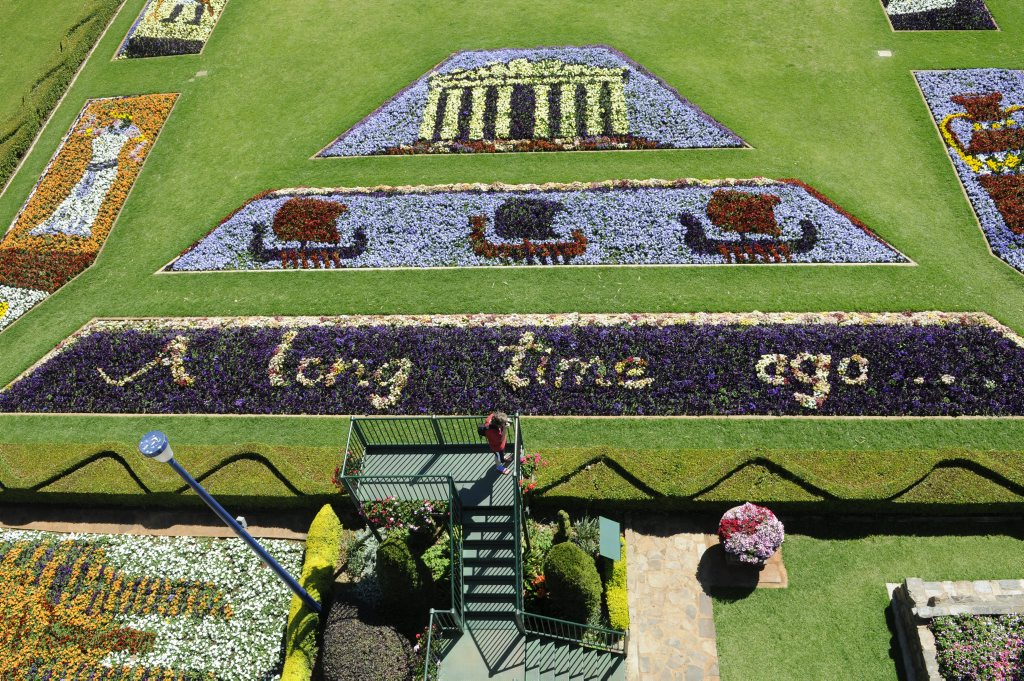 A Long Long Time Ago is the theme at Laurel Bank Park for this year's Carnival of Flowers.