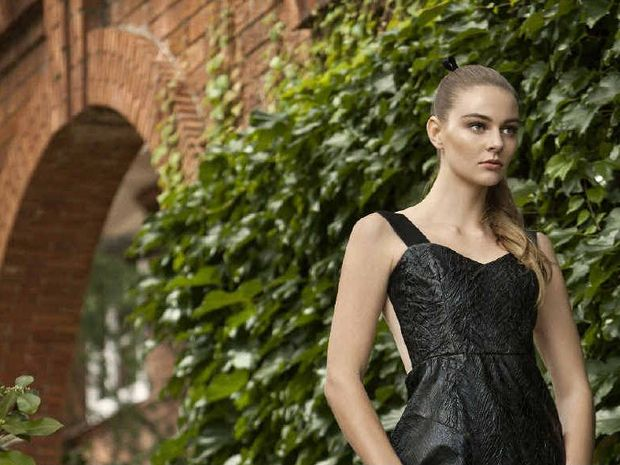 MODEL CITIZEN: Abbie Weir plans to complete her HSC before pursuing a career in modelling.