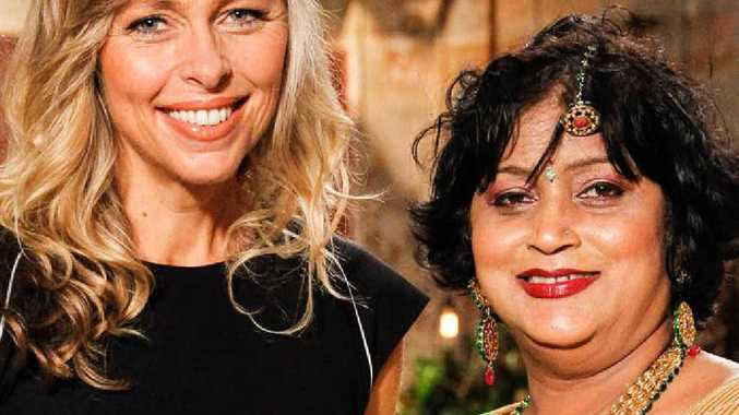 SUCCESS: Woolies' customer loyalty manager Lizzy Ryley with Manju Jehu.