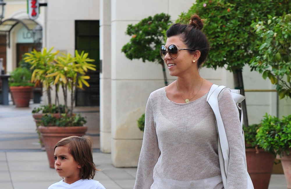 Mason Disick and Kourtney Kardashian