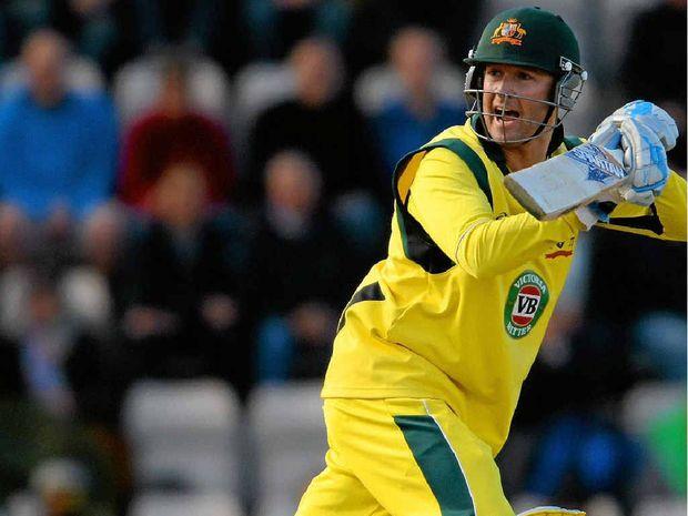 Australian skipper Michael Clarke scored 75 runs in the final one-dayer against England yesterday.