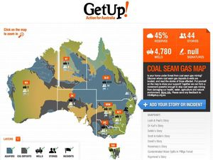 GetUp campaign against coal seam gas growing