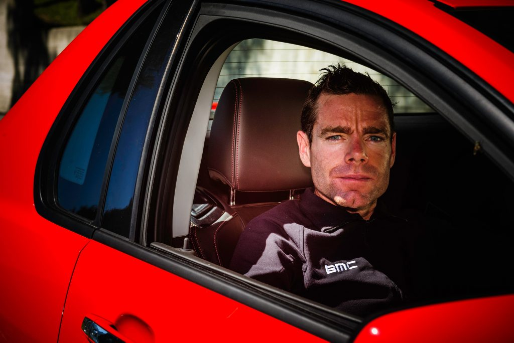 As a Holden ambassador, Cadel Evans currently drives a Commodore Sportwagon.