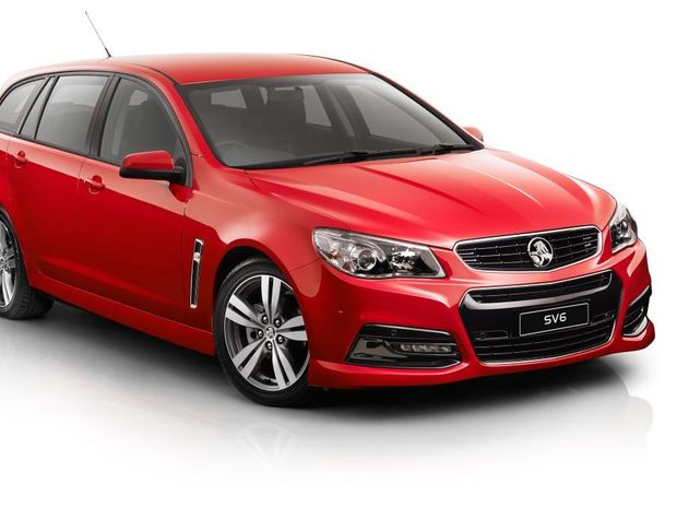 The Holden VF Commodore Sportwagon SV6.