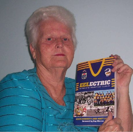 Wendy Flintcroft has become Grafton's No.1 footy tipster, unlike her No.1 Eels that failed to make the finals.