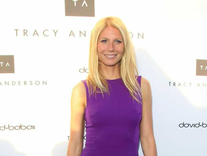 Gwyneth Paltrow at the opening of her gym.
