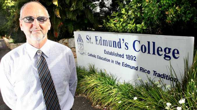 STEPPING DOWN: Principal of St Edmund's College Brendan Lawler will retire this year.