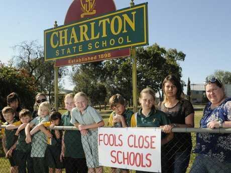 Charlton State School students and parents are upset that the State Government has chosen