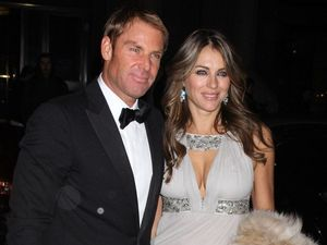 Over with Liz Hurley? No way says Shane Warne