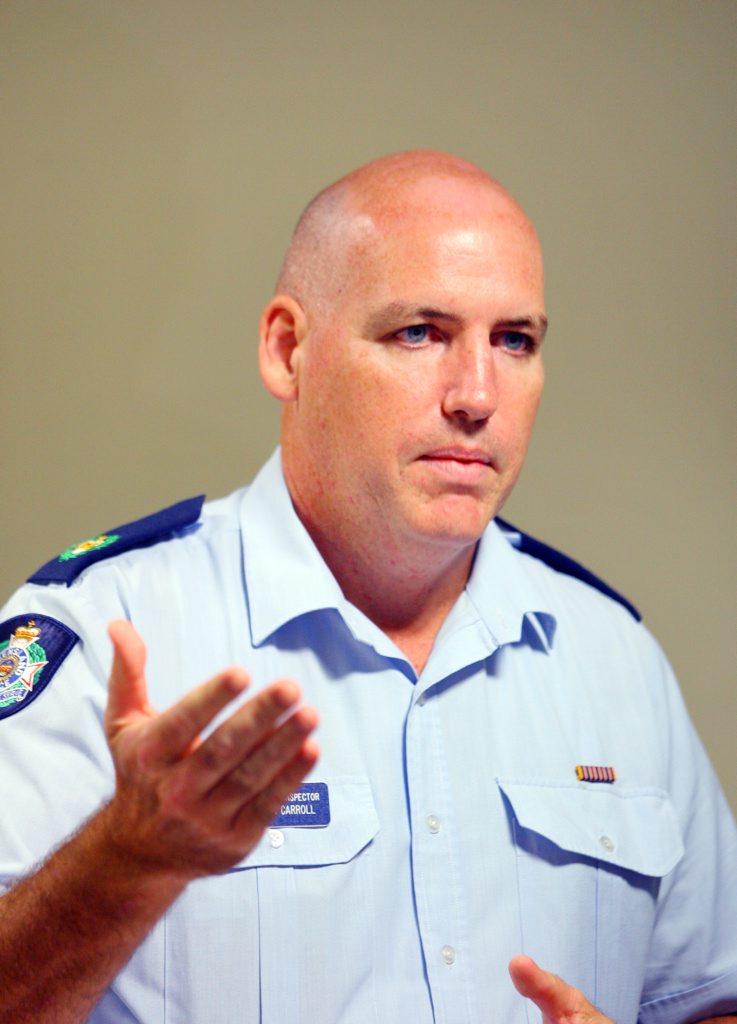 Acting Detective Inspector Ben Carroll