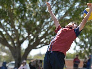 Spikezone interschool volleyball