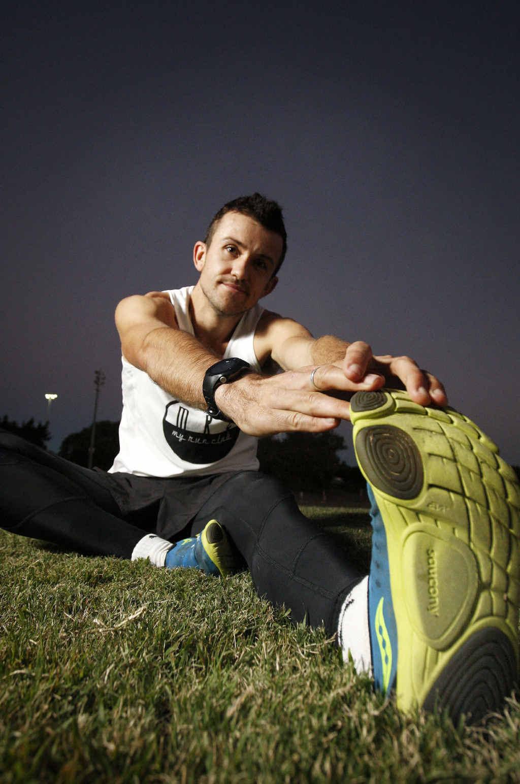 BEST FOOT FORWARD: Rising Ipswich athlete Clay Dawson is preparing to face his longest challenge at this weekend's Australian Marathon Championships.