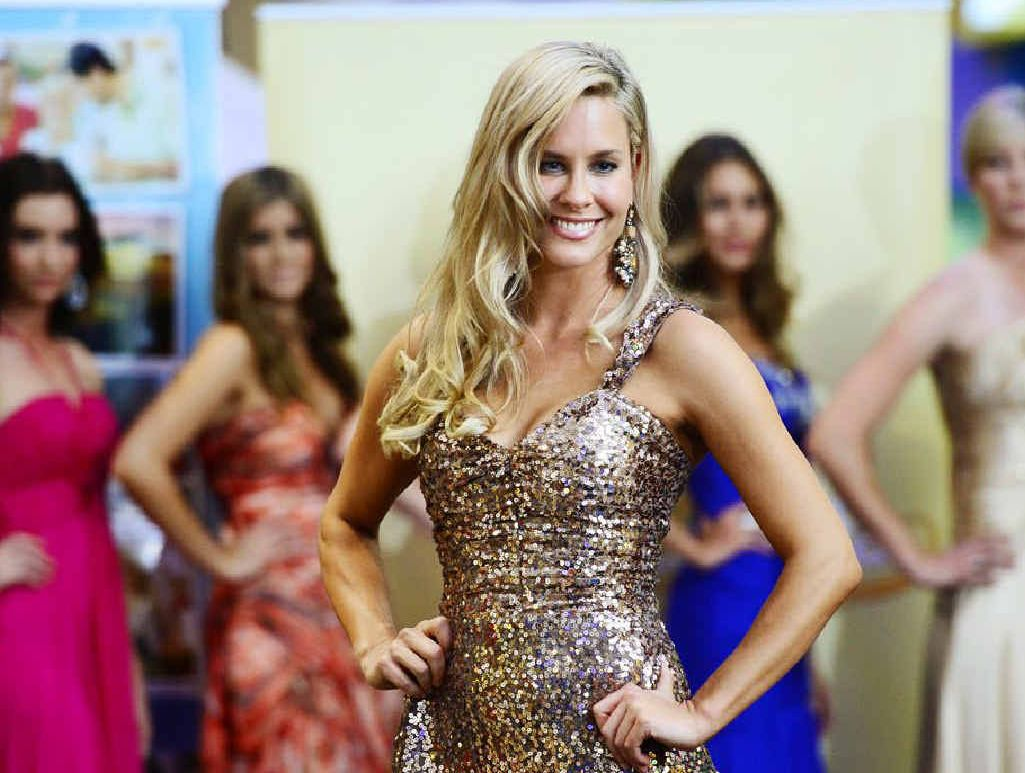 HIGH PROFILE: Contestants in the Miss Tourism pageant take to the catwalk for the preliminary heats at Riverlink, including one of the winners Alicia Holgar.