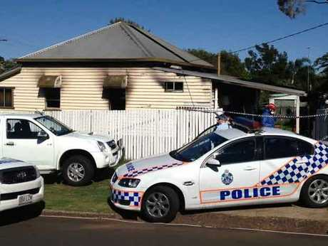 Police are at the scene this morning of the tragic house fire in North Toowoomba that killed a two-year-old boy.