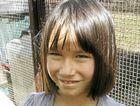 HANDS-ON: Sydney Kelbling, 7, from Maroondoon at Old Macdonald's Farm.
