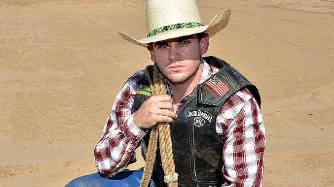 Joel Carroll will compete for points in Saturday night's PBR Touring Pro Series event at the Mackay Virgin Australia Stadium.