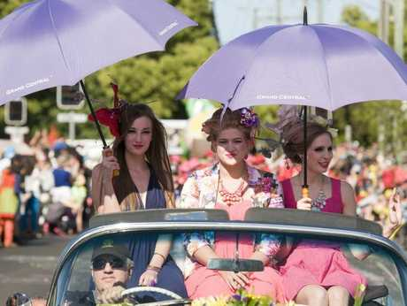 There's still plenty happening at the Toowoomba Carnival of Flowers this week.