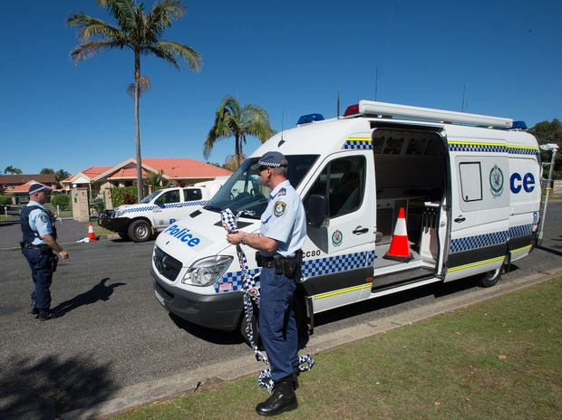 Police set up a crime scene in Prince Street last Friday where the man who later died was first discovered.