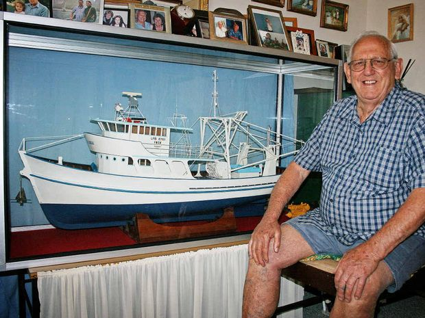 PRAWNING HISTORY: Author Brian Bienke has just published the second volume of the history of Aussie prawners titled Prawners Down under-The (Fishing) Life of Brian.