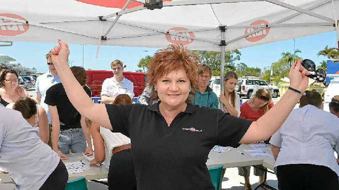 JOB HUNT: Manager Roz White was stunned at the hundreds of job seekers who turned out at the Bli Bli IGA.