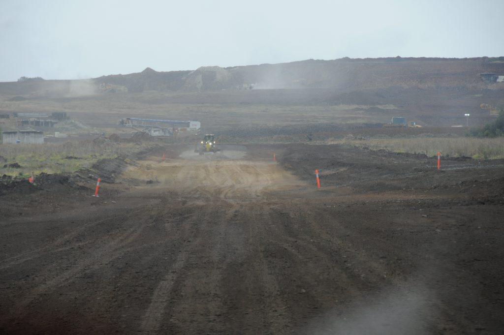 The Wellcamp Airport runway.