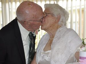 Couple renews vows seven decades into marriage