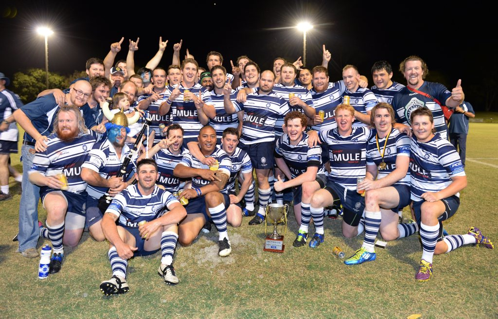 2013 Rugby Union champions - Brothers. Photo: Chris Ison / The Morning Bulletin