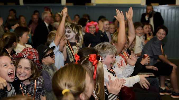 WINNER: The winner is announced...Crabbes Creek Public School! Photo by Ineka Morosini Photography