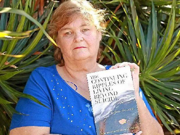 FINDING SOLACE: Author Kaylene Donohue.