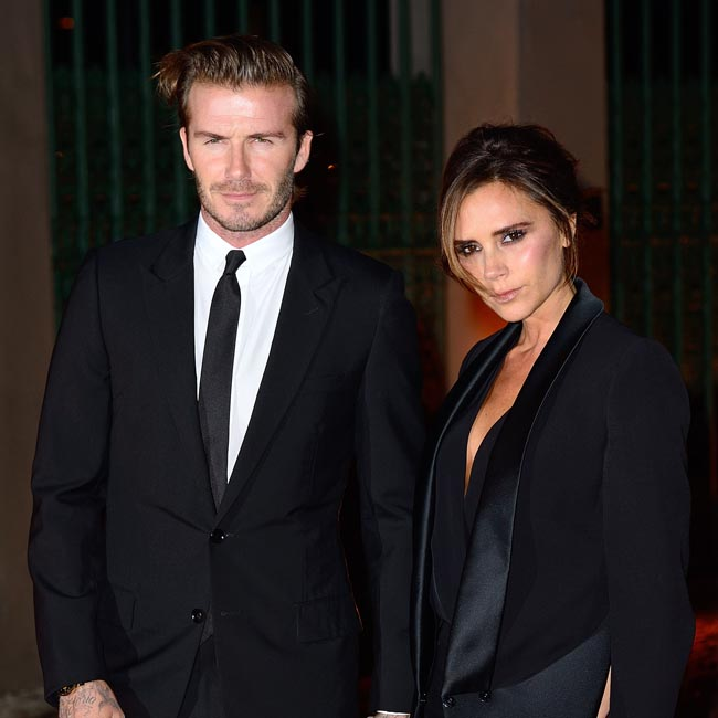 Victoria and David Beckham reportedly splashed out £50,000 to give their London mansion a festive makeover.