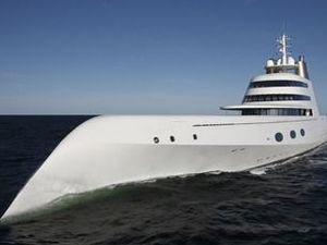 $350m 'submarine' megayacht arrives in NZ