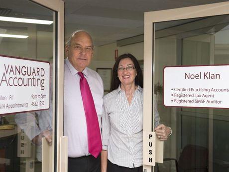 Noel and Kate Klan of Vanguard Accounting.